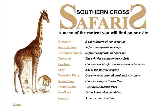 southerncrosssafaris.com